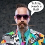 Artwork for EP.83-Mustache Mike on Talking Beards
