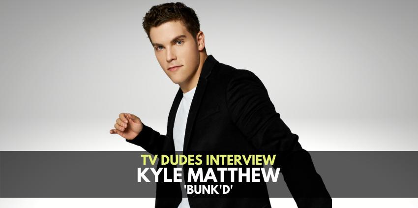Kyle Matthew, 'Bunk'd' - The TV Dudes Interview show art