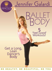 Exercise DVD Star Jennifer Galardi Shares How To Get A Ballet Body