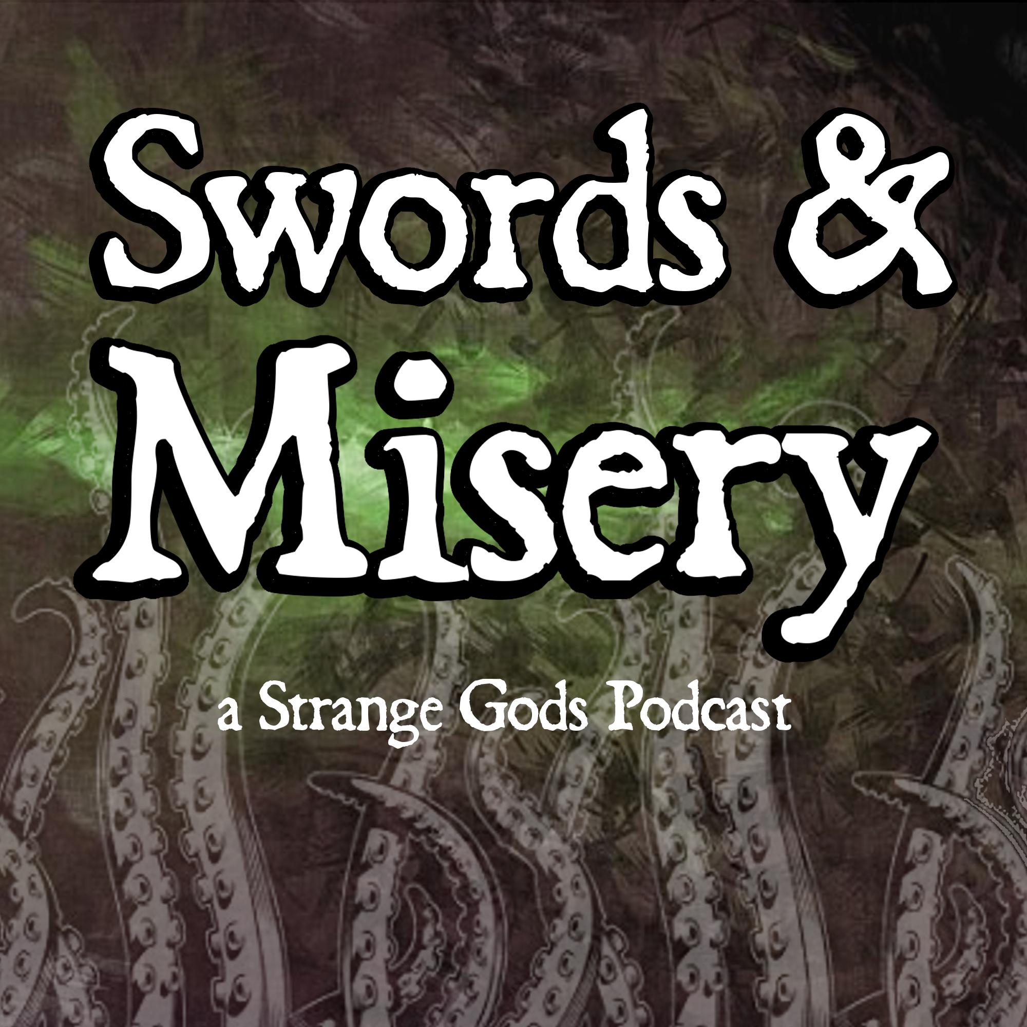 Swords & Misery show art