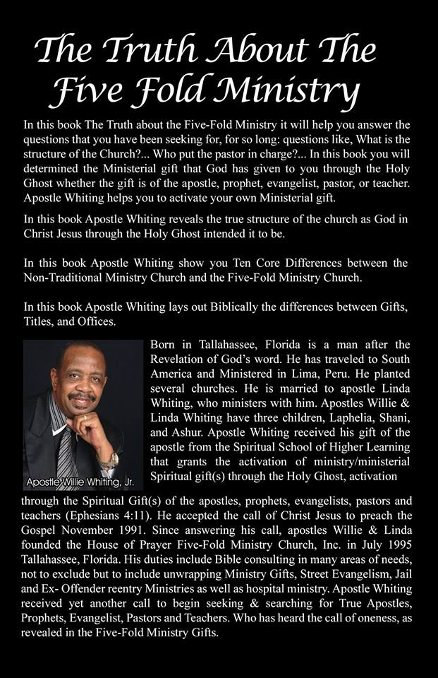Apostle Willie Whiting Jr.
