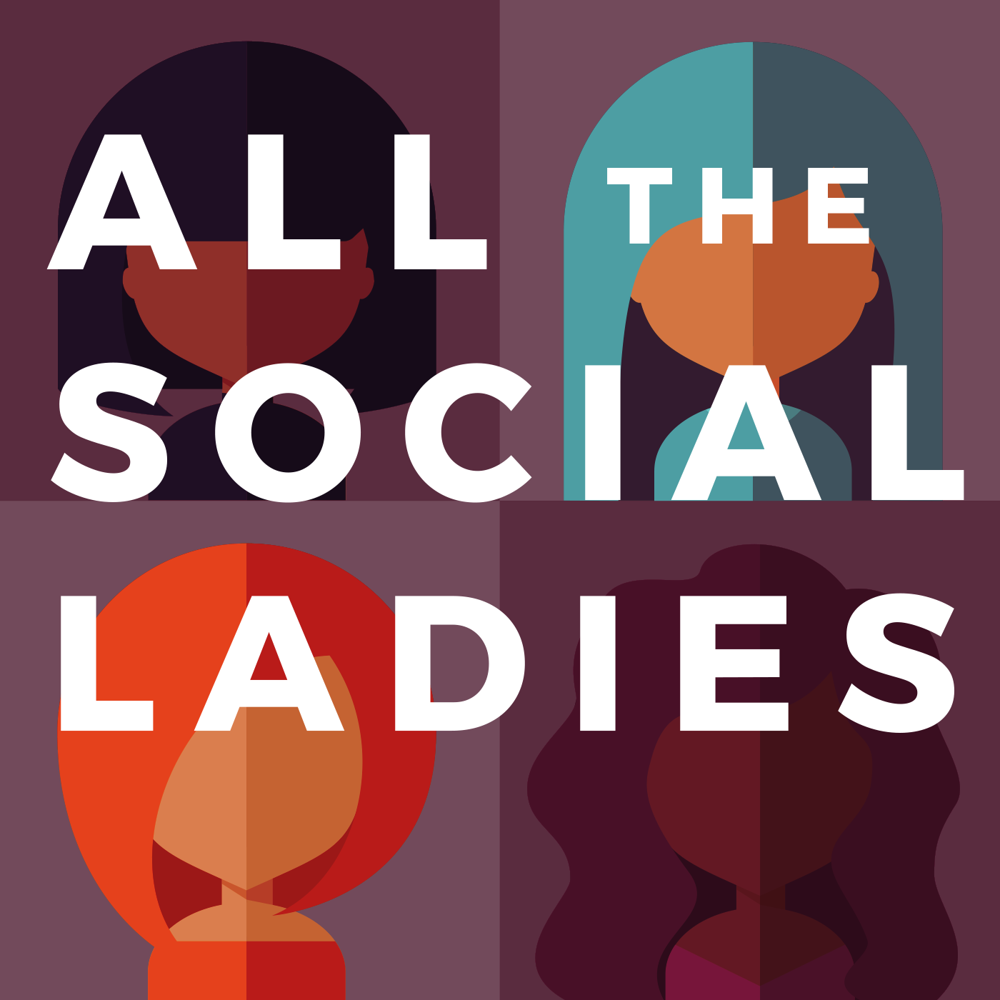 All the Social Ladies with Carrie Kerpen show art