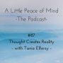 Artwork for Episode 87: Thought Creates Reality With Tania Elfersy