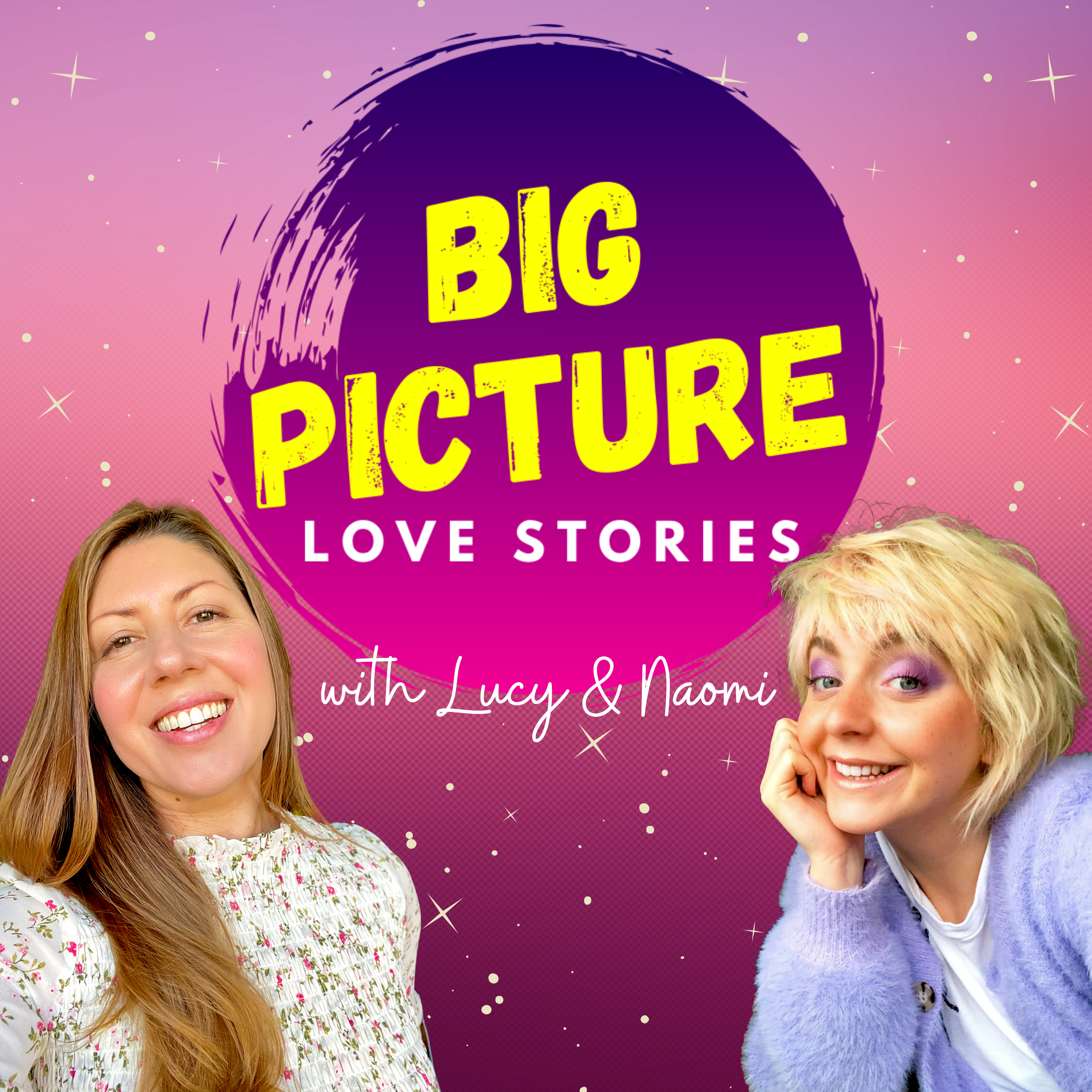 Big Picture Love Stories Podcast show art