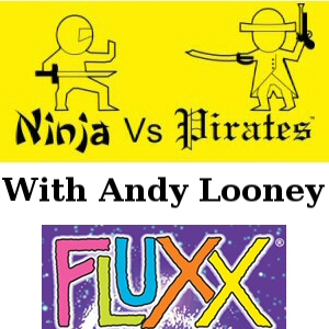 NvP 2x07 - Fluxx with Andrew Looney