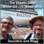 Artwork for The Skeptic Zone #334 - 15.Mar.2015