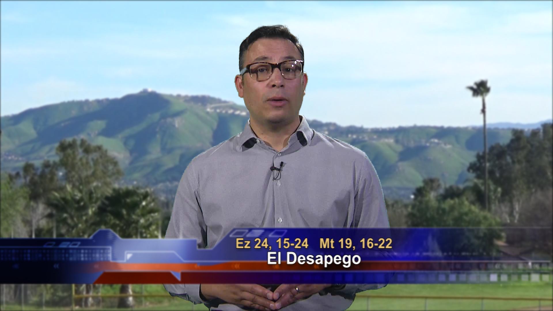 Artwork for Dios te Habla con Elder Samaniego; Tema el hoy: El Desapego