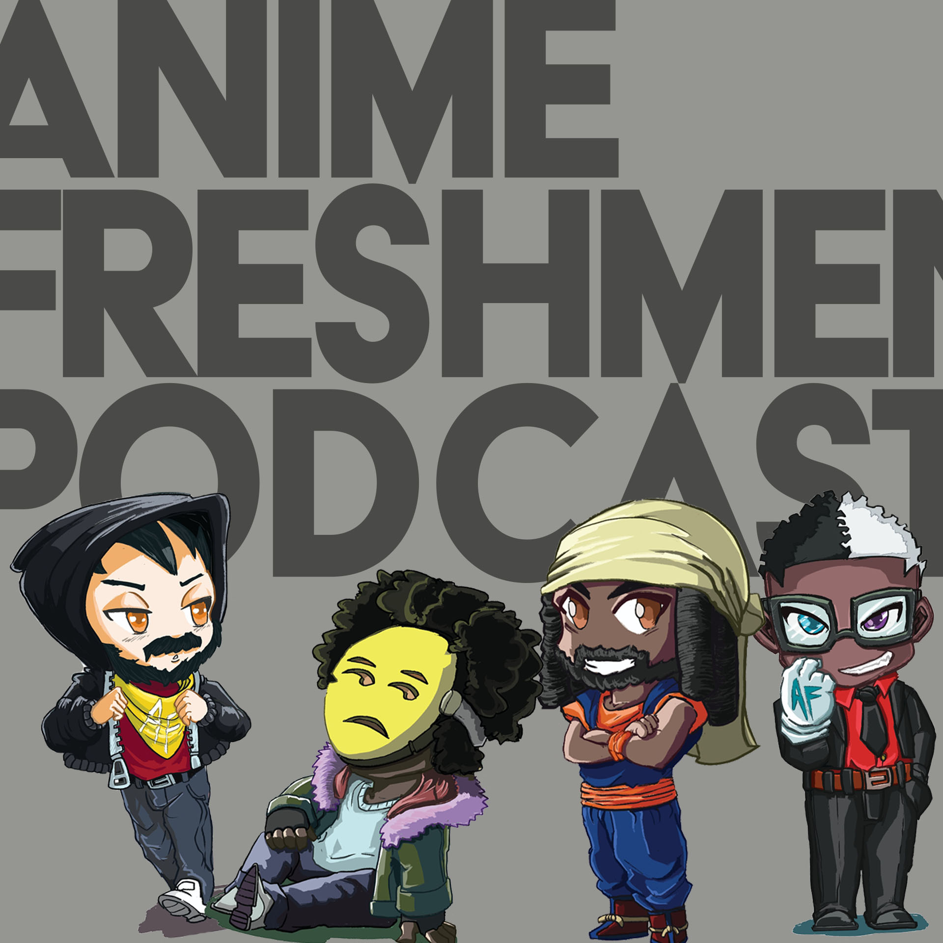The Anime Freshmen Podcast show art