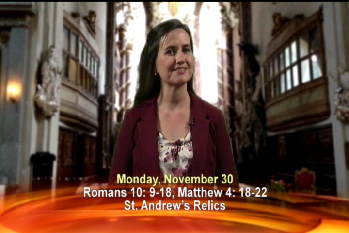 Artwork for Monday, November 30th Today's Topic: St. Andrew's Relics