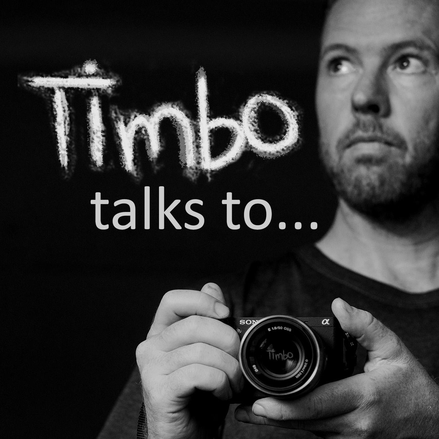 Timbo Talks... show art