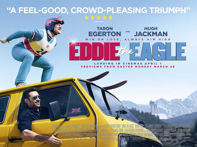 Eddie the Eagle movie poster other