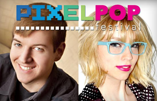 PixelPop Festival 2015 organizers Carol Mertz and Jeremy Johnson