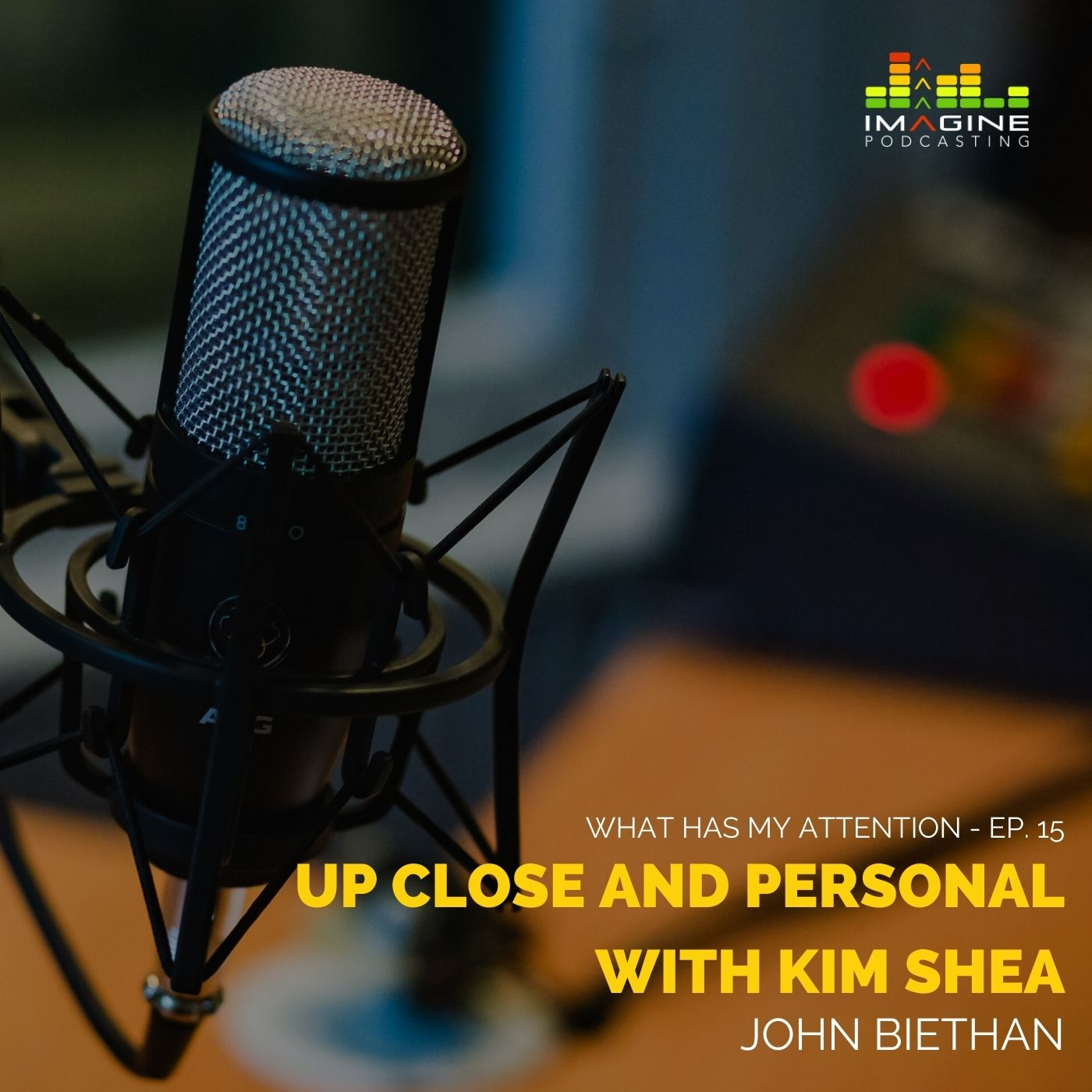 Ep. 15 Up Close and Personal with Kim Shea
