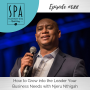 Artwork for SMME #088 How to Grow into the Leader Your Business Needs with Njeru Nthigah