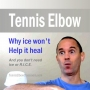 Artwork for Should You Ice Your Tennis Elbow?