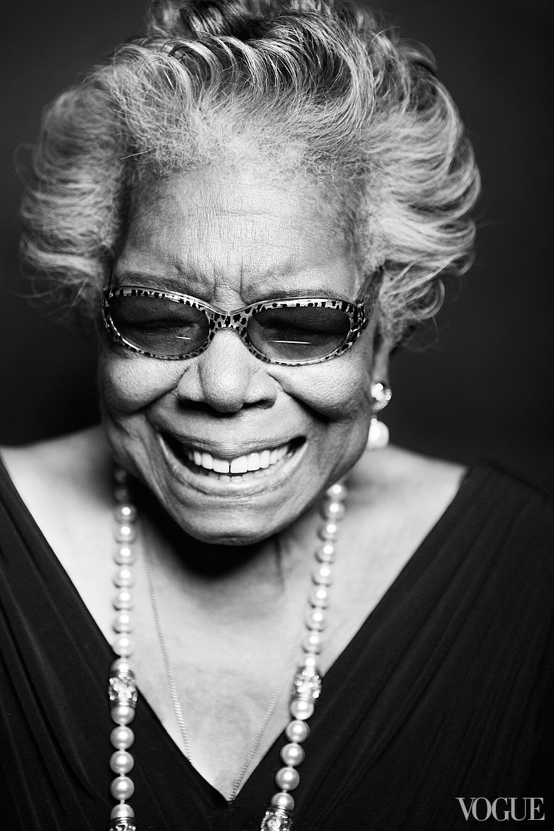 Maya Angelou Vogue Ten Words