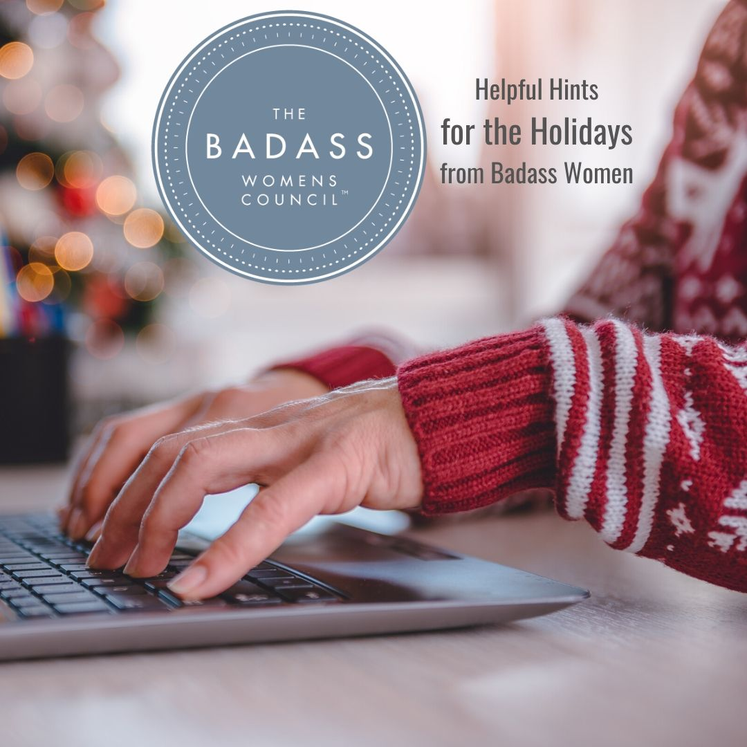 Helpful Holiday Hints from Badass Women - Alex Perry