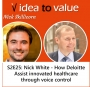 Artwork for S2E25: Nick White - How Deloitte Assist innovated healthcare through voice control