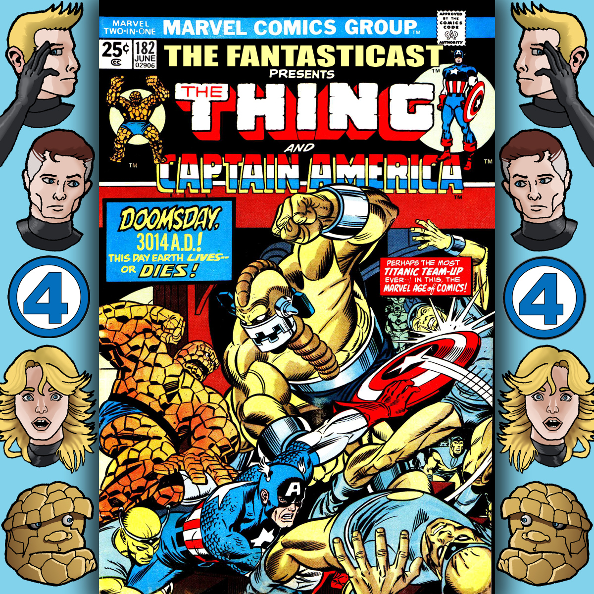Episode 182: Marvel Two-in-One #4 - Doomsday 3014