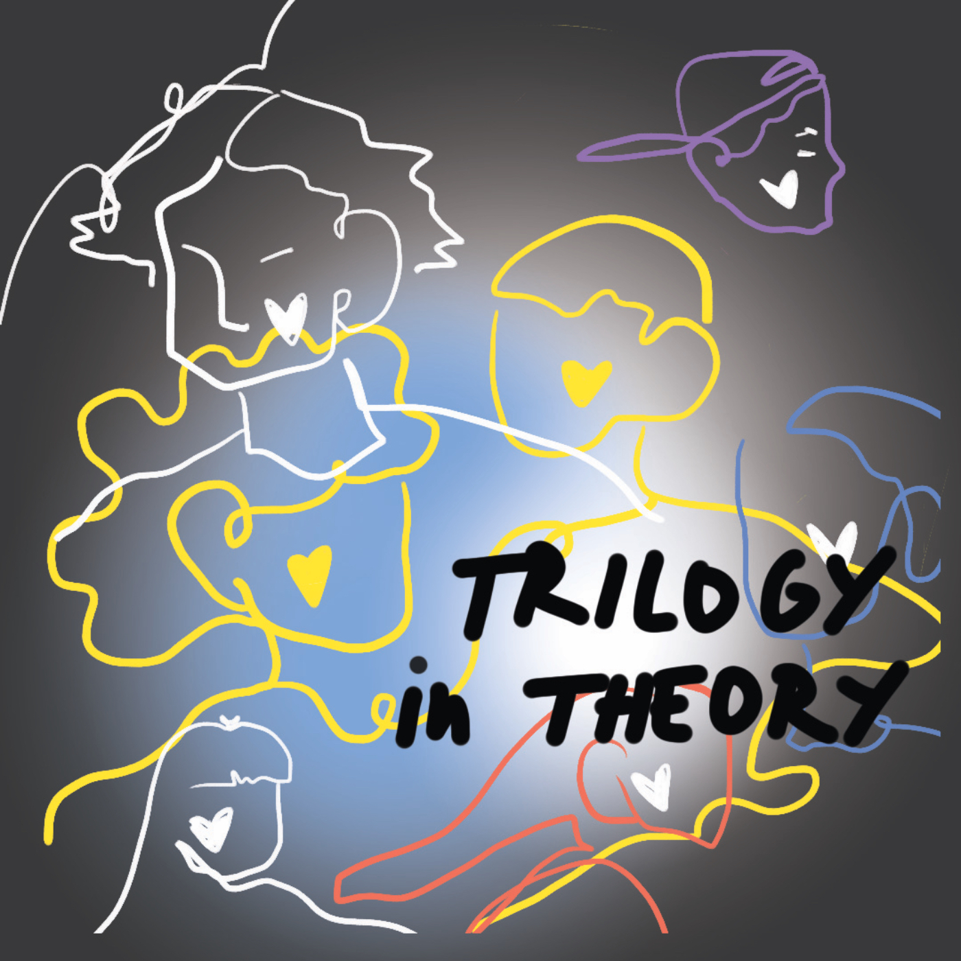 Trilogy in Theory show art