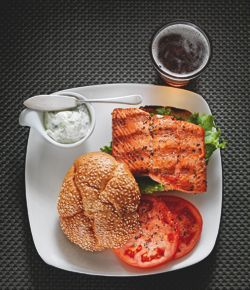 Recipe of the Week: Salmon Burger, West Coast Style