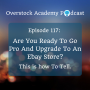 Artwork for OA #117: Are You Ready To Go Pro And Upgrade To An eBay Store? This Is How To Tell.