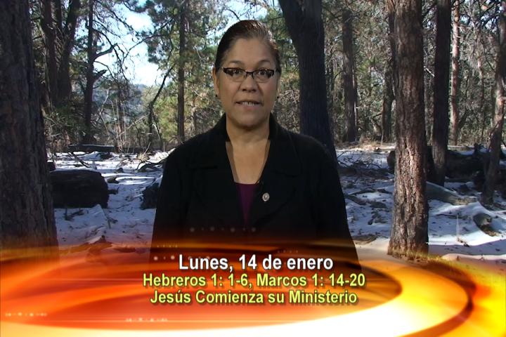 Artwork for Dios te Habla con Angela Valencia;  Tema el hoy: Jesús comienza su ministerio y llama a sus primeros discípulos