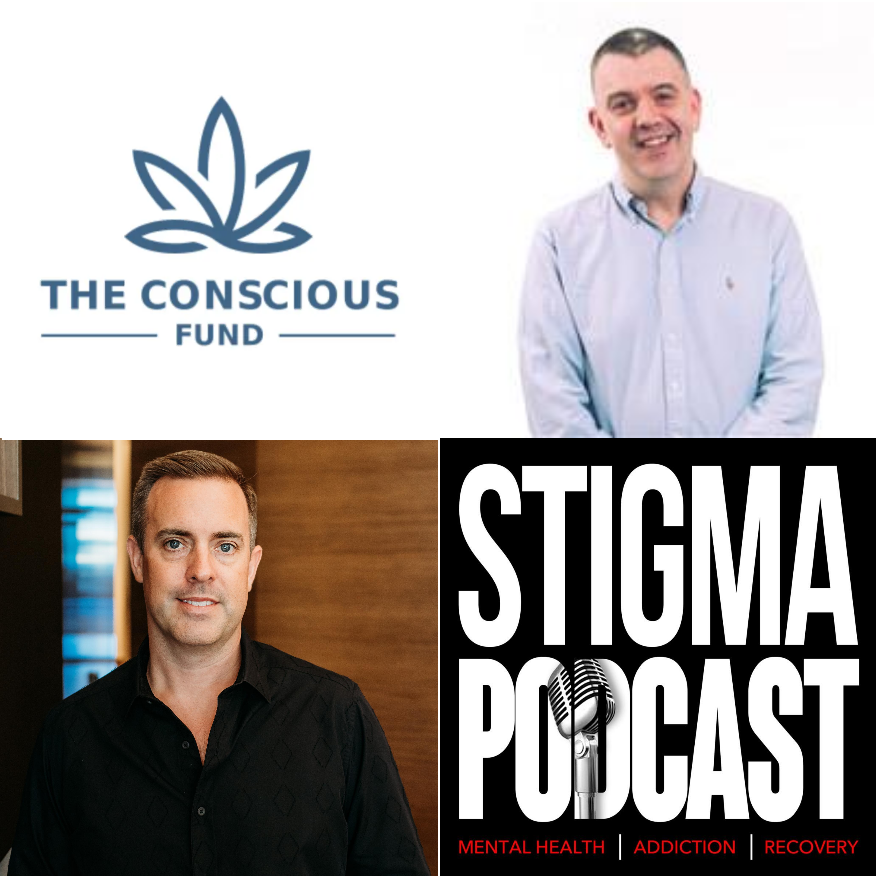 Stigma Podcast - Mental Health - #63 - Psychedelic Focused VC: The Conscious Fund with Richard Skaife
