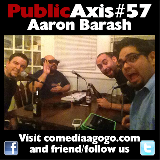Public Axis #57: Aaron Barash