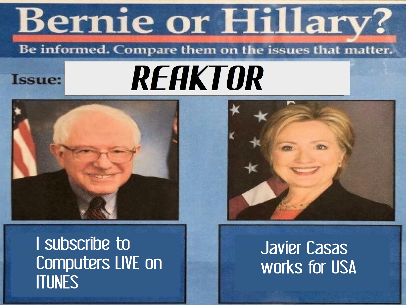 SUPER PAC - SILKROAD - BERNIE vs CLINTON - GREATEST WAR MARCHES - POLITICAL BASS - REAKTOR SENSEI - HARLEM GLOBE TROTTER