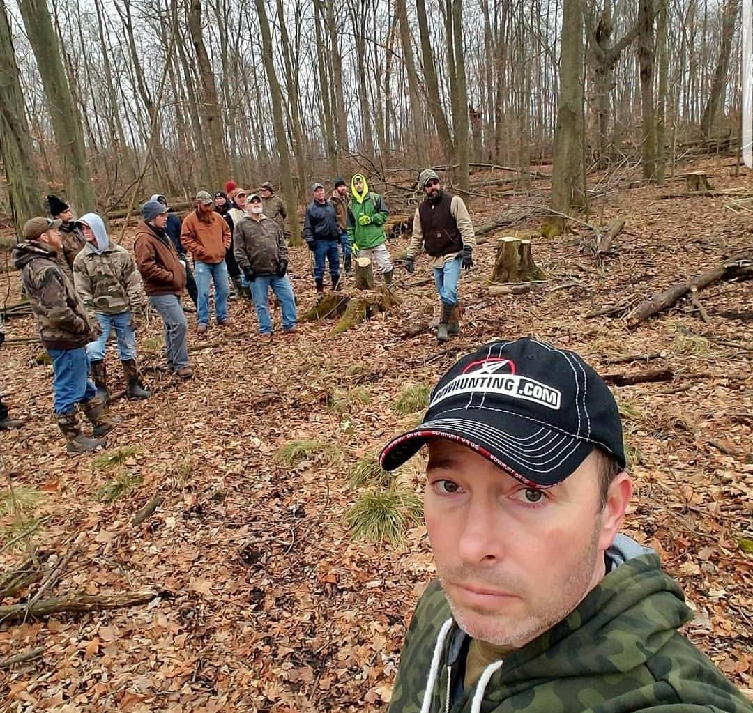 Artwork for Habitat Podcast #32 - David Bryce - 28 Acres, Habitat Tours, Changing Habitat Plan & Park Like Woods, Horse Logging, MI Quality Deer Habitat Group, Switchgrass Success, Pruining Fruit Trees & Buying Trees/Miscanthus in Bulk