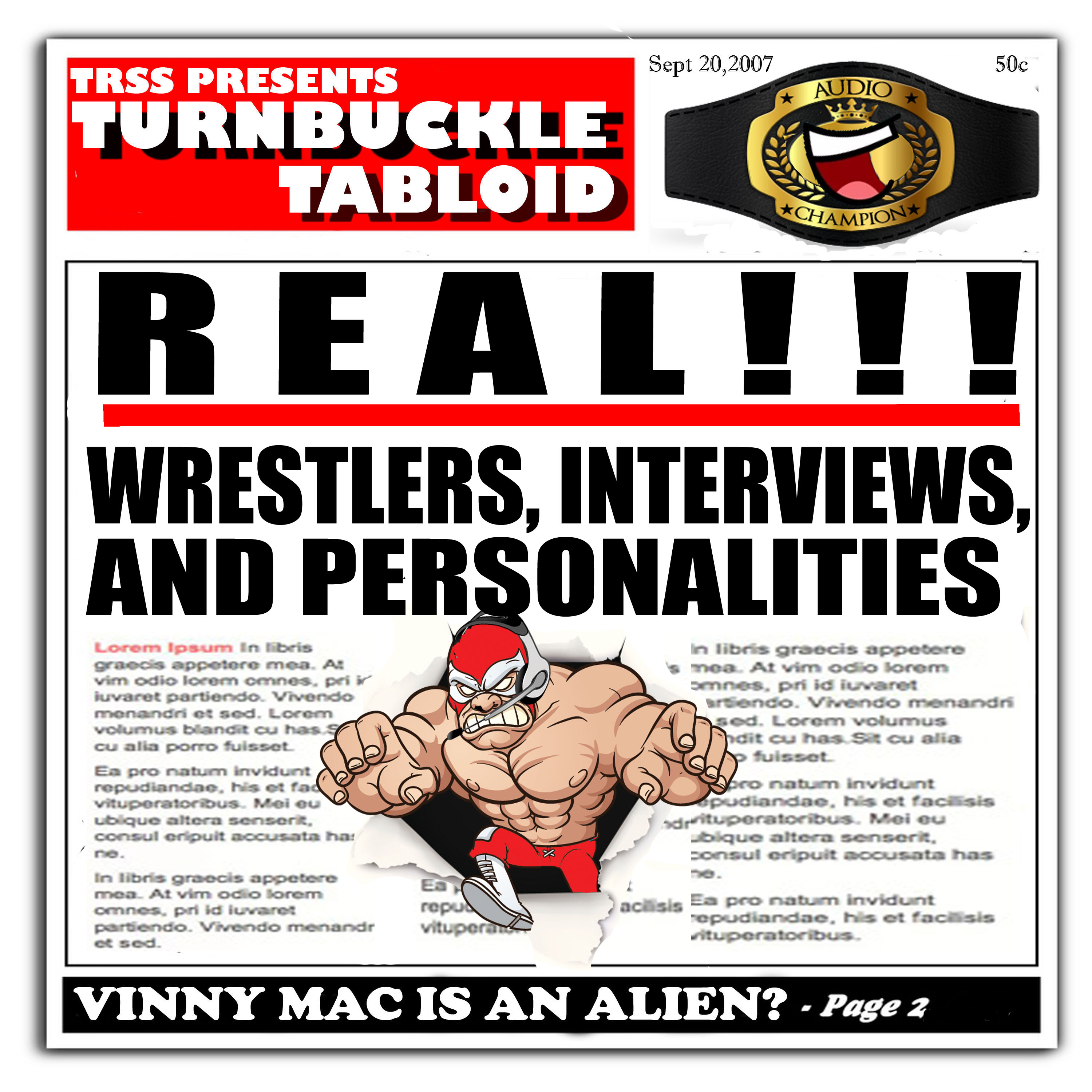 Artwork for Turnbuckle Tabloid-Episode 46