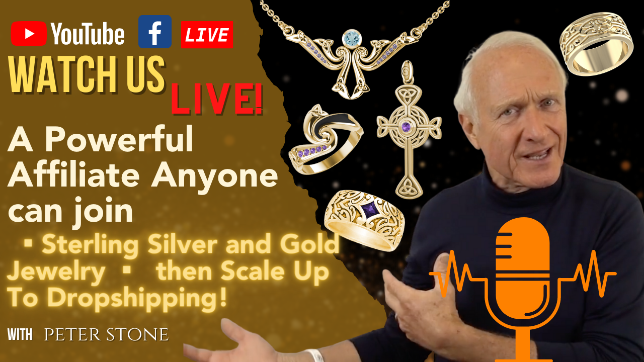 A Powerful Affiliate Anyone can join ▪︎ Sterling Silver and Gold Jewelry show art
