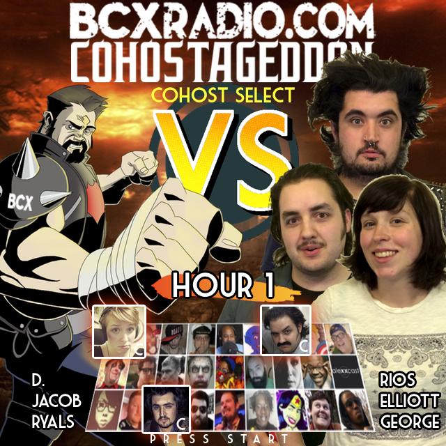 BCXradio 6.01.01 - COHOSTAGEDDON:  HOUR 1