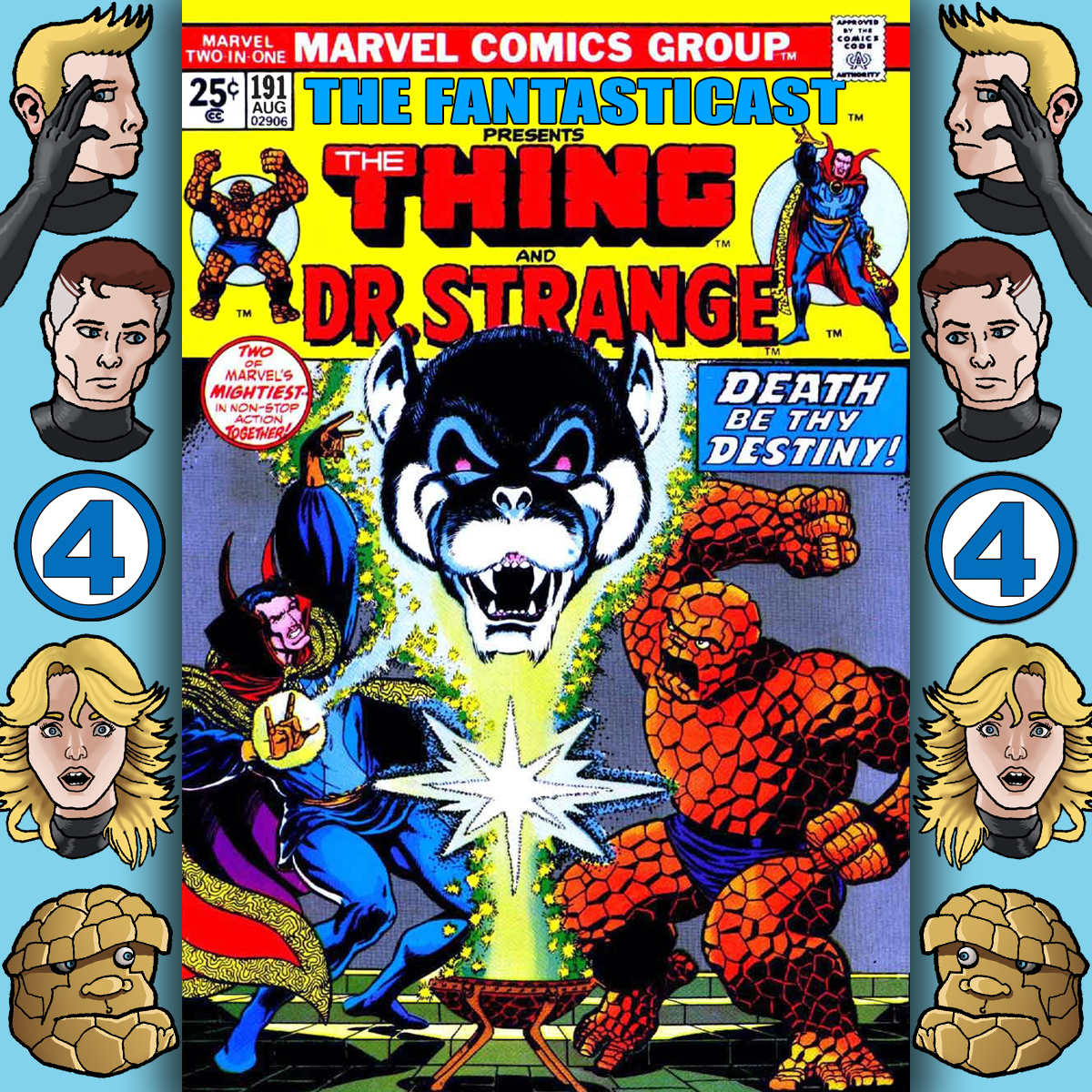 Episode 191: Marvel Two-in-One #6 - Death-Song of Destiny