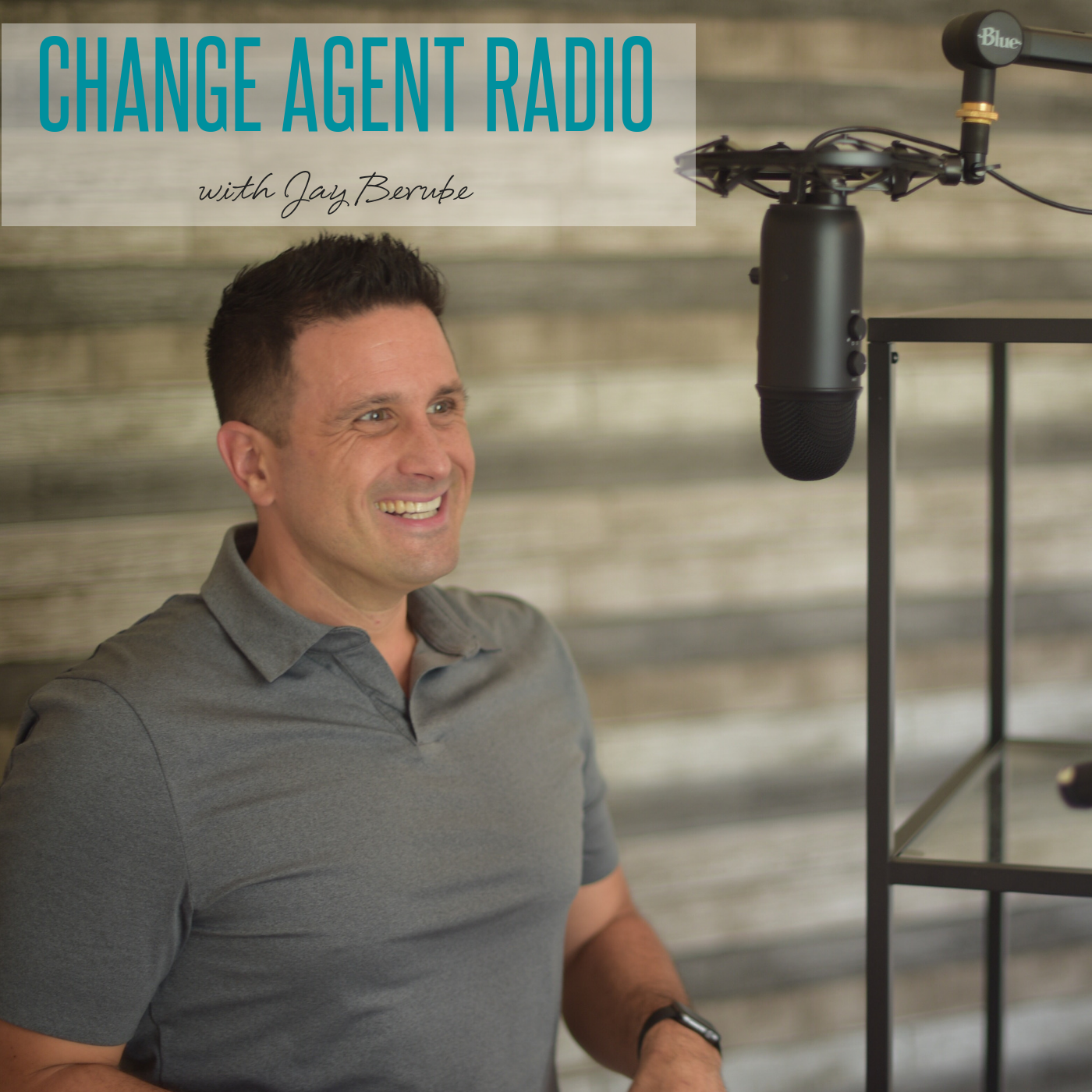 Change Agent Radio show art