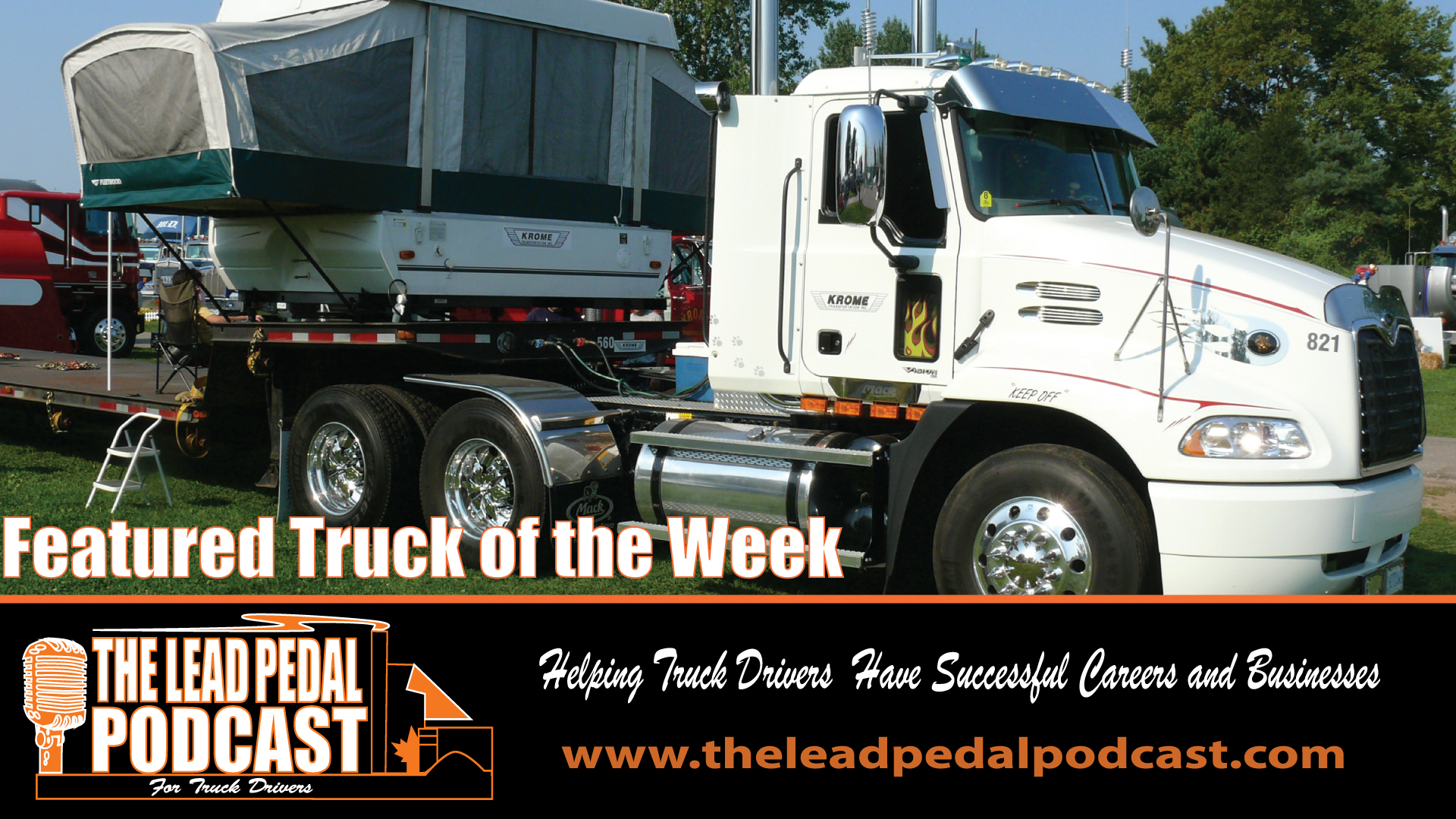 LP639 Featured Truck of the Week - Krome Mack Vision