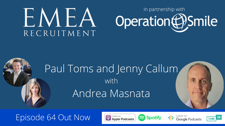 EMEA Recruitment Podcast Episode #64 – Andrea Masnata