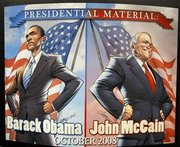 Obama and McCain Become Comic Book Stars