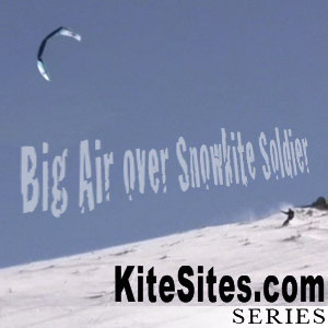 Big Air over Snowkite Soldier