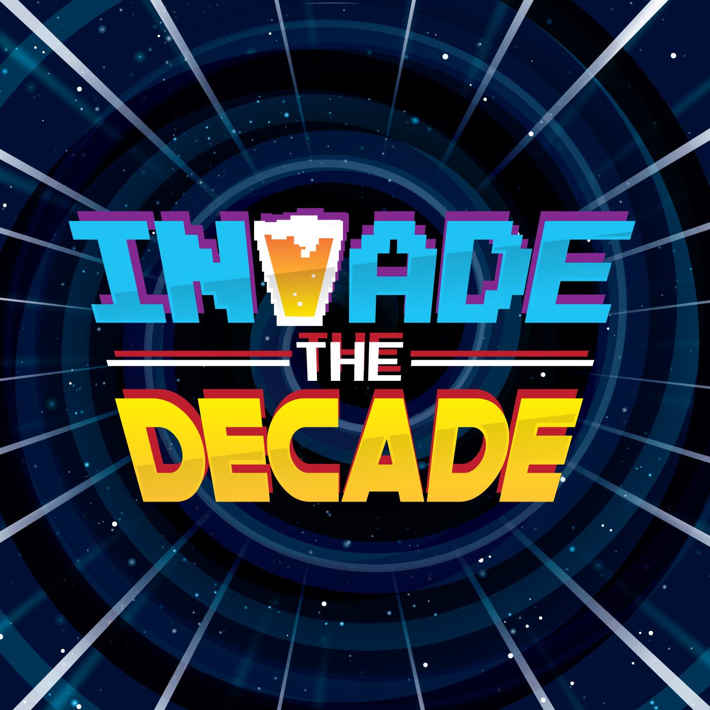 Invade the Decade logo