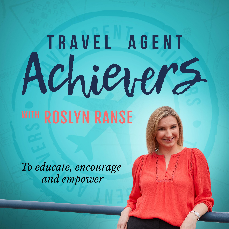 Travel Agent Achievers's Podcast show art