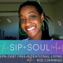 Artwork for EP08 Debt Free + Intentional Living With Roe Cummings