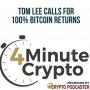 Artwork for Tom Lee Calls For 100% Bitcoin Returns