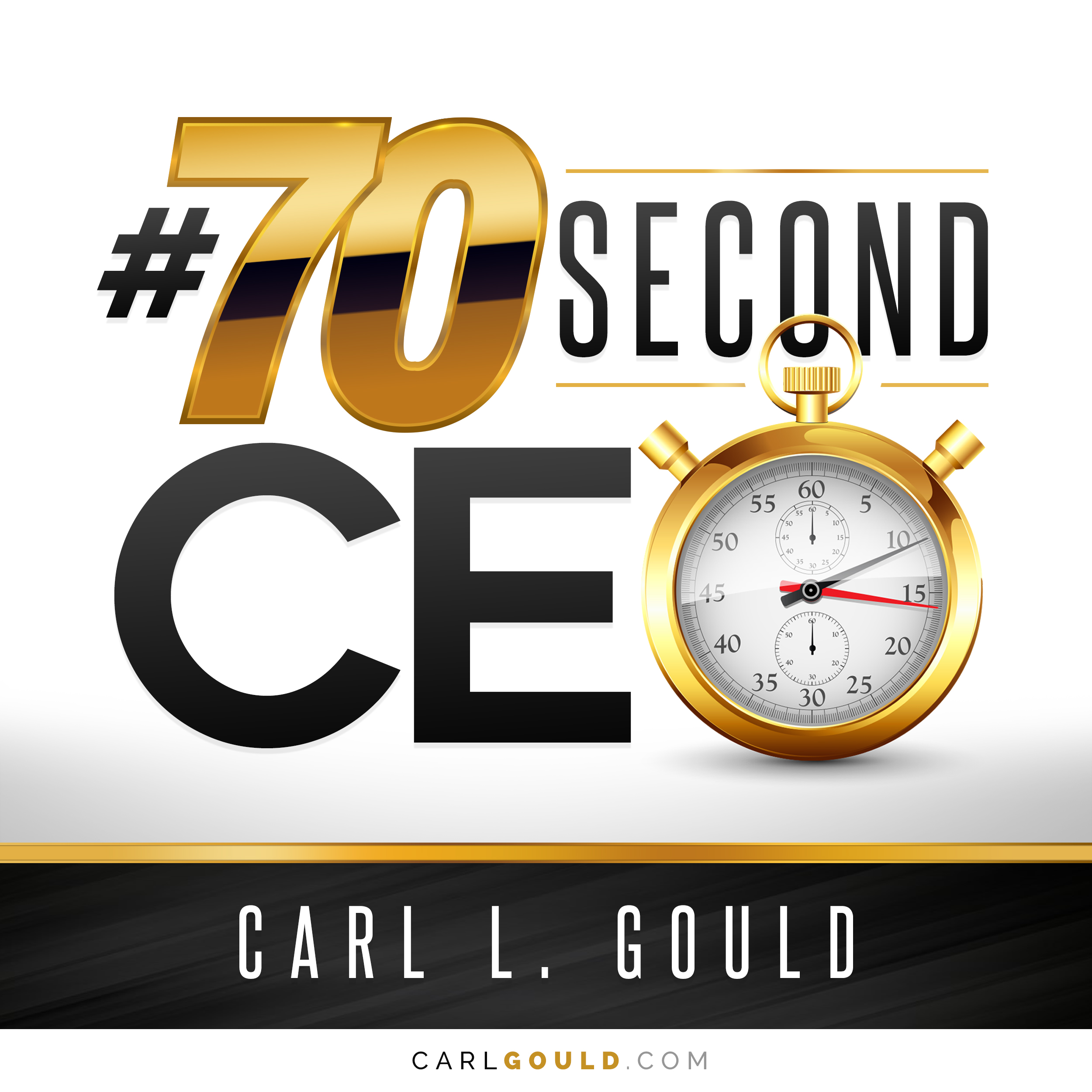 Artwork for CarlGould-#70secondCEO-How we Look at a Business-Part 3