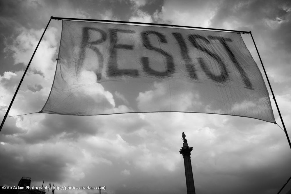 resist.
