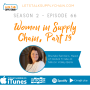 Artwork for SEA 2, EP 66 - Women in Supply Chain Part 19 - Brenda Santoro