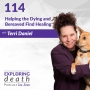 Artwork for Helping the Dying and Bereaved Find Healing  with Terri Daniel - Episode 114