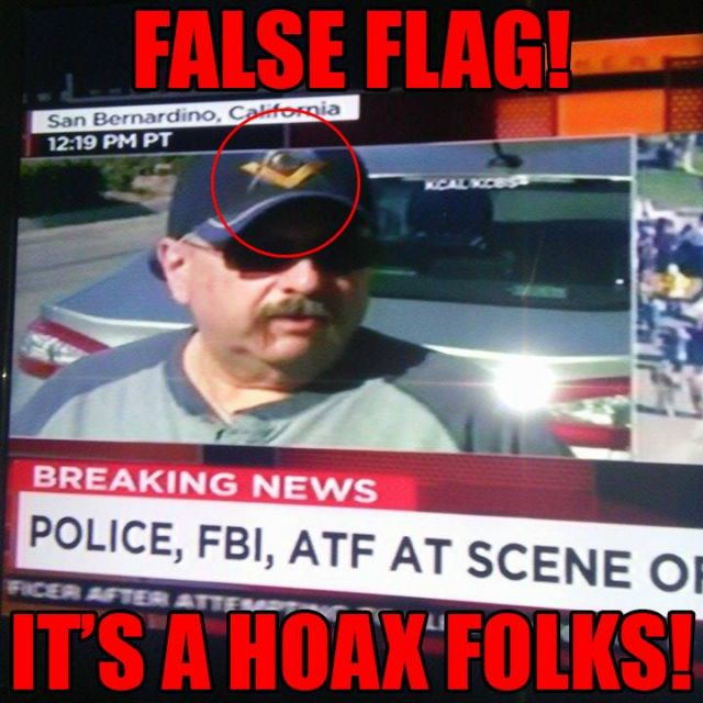 San Bernardino False Flag & Syria