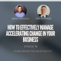 Artwork for #76 How to Effectively Manage Accelerating Change in Your Business with Don Mackenzie